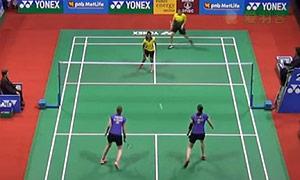 佩蒂森/尤尔VS巴兰/沙旺特 2015印度公开赛 女双1/16决赛视频