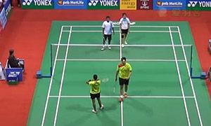 奇雅加特/萨里VS科纳/瑞迪 2015印度公开赛 混双1/16决赛视频