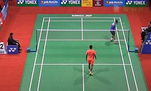 苏吉亚托VS林丹 2015印度公开赛 男单1/4决赛视频