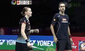 尼尔森/佩蒂森VS乔丹/苏珊托 2015印度公开赛 混双半决赛视频