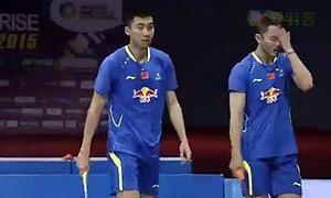 柴飚/洪炜VS伊万诺夫/索松诺夫 2015印度公开赛 男双半决赛视频
