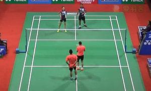 刘成/包宜鑫VS苏巴蒂亚/维德佳佳 2015印度公开赛 混双半决赛视频
