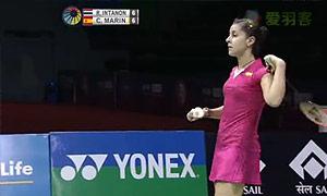 因达农VS马琳 2015印度公开赛 女单半决赛视频