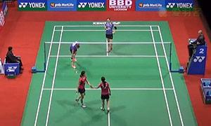 松友美佐纪/高桥礼华VS佩蒂森/尤尔 2015印度公开赛 女双半决赛视频