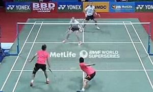 2015年印度羽毛球公开赛10佳球集锦