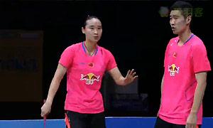 刘成/包宜鑫VS尼尔森/佩蒂森 2015印度公开赛 混双决赛视频
