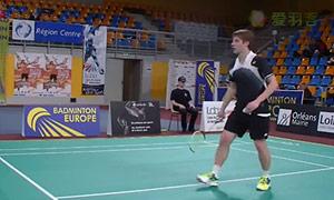 扎瓦德斯基VS基兰 2015法国国际公开赛 男单半决赛视频