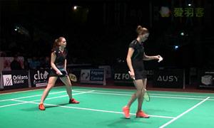 加夫列拉/斯托伊娃VS奧利弗/L.史密斯 2015法國國際公開賽 女雙決賽視頻