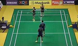 催率圭/高成炫VS傅海峰/张楠 2015马来公开赛 男双1/16决赛视频