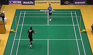 约根森VS李炫一 2015马来公开赛 男单1/16决赛视频