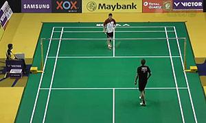 许仁豪VS茨维布勒 2015马来公开赛 男单1/16决赛视频