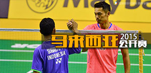 2015年马来西亚羽毛球公开赛