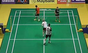 基多/皮娅VS尼克拉斯/蒂格森 2015马来公开赛 混双1/16决赛视频