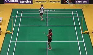 内维尔VS菲比 2015马来公开赛 女单1/16决赛视频