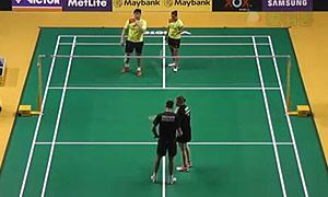 尼尔森/佩蒂森VS奇雅加特/萨里 2015马来公开赛 混双1/16决赛视频