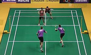 科丁/尤尔VS维迪安托/蒂莉 2015马来公开赛 混双1/16决赛视频