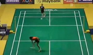 王仪涵VS玛努布蒂 2015马来公开赛 女单1/16决赛视频