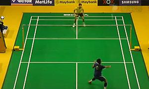谌龙VS卡什亚普 2015马来公开赛 男单1/8决赛视频