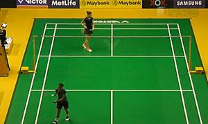马琳VS王苑力 2015马来公开赛 女单1/8决赛视频