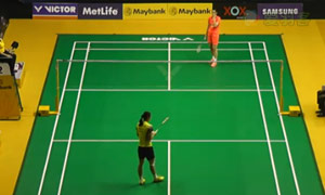 李雪芮VS王仪涵 2015马来公开赛 女单1/4决赛视频