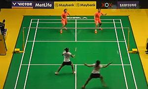 骆赢/骆羽VS尼蒂娅/波莉 2015马来公开赛 女双1/4决赛视频