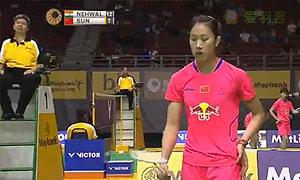 内维尔VS孙瑜 2015马来公开赛 女单1/4决赛视频
