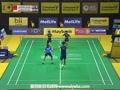 张楠/赵芸蕾VS艾哈迈德/纳西尔 2015马来公开赛 混双半决赛视频
