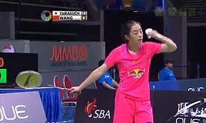 王适娴VS山口茜 2015新加坡公开赛 女单1/4决赛视频