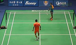 廖骏伟VS南库尔 2015中国大师赛 男单1/8决赛视频