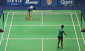 陈晓欣VS梅林达 2015中国大师赛 女单1/16决赛视频