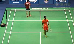 赵俊鹏VS肯塔瓦特 2015中国大师赛 男单1/8决赛视频