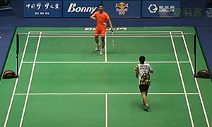 郭柏呈VS郭凯 2015中国大师赛 男单1/8决赛视频