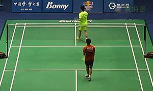 黄宇翔VS黄梓良 2015中国大师赛 男单1/4决赛视频
