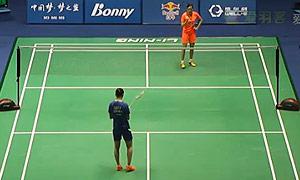 惠夕蕊VS高昉洁 2015中国大师赛 男单1/4决赛视频