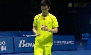 王睁茗VS黄宇翔 2015中国大师赛 男单决赛视频