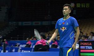 王睁茗VS波萨那 2015亚锦赛 男单1/16决赛视频