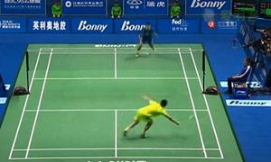 中国羽毛球大师赛精彩10佳球