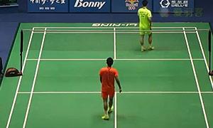 黄宇翔VS田厚威 2015中国大师赛 男单半决赛视频