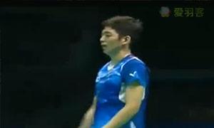 李龙大/柳延星VS阿山/塞蒂亚万 2015亚锦赛 男双决赛视频