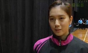 何冰娇VS大堀彩 2015新西兰公开赛 女单半决赛视频