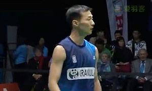 李炫一VS乔斌 2015新西兰公开赛 男单决赛视频