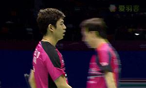吳蔚昇/陳蔚強VS李龍大/柳延星 2015蘇迪曼杯 男雙資格賽視頻
