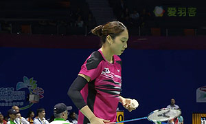 成池铉VS林吟芳 2015苏迪曼杯 男单资格赛视频