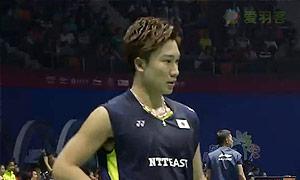 桃田贤斗VS马尔科夫 2015苏迪曼杯 男单资格赛视频