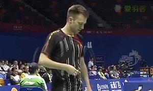 茨维布勒VS坦农萨克 2015新西兰公开赛 男单资格赛视频