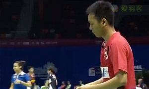 阿山/塞蒂亚万VS埃利斯/米尔斯 2015苏迪曼杯 男双资格赛视频