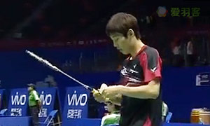 孙完虎VS卡什亚普 2015苏迪曼杯 男单资格赛视频
