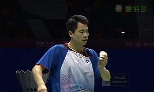 魏楠VS利弗德斯 2015苏迪曼杯 男单资格赛视频