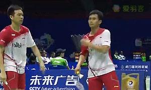 阿山/塞蒂亚万VS索伦森/安德斯 2015苏迪曼杯 男双资格赛视频