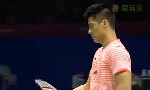 张楠/傅海峰VS福克斯/卡斯巴尔 2015苏迪曼杯 男双1/4决赛视频